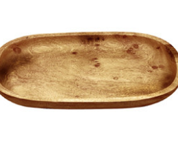 Featured Product Acacia Wood Oval Serving Platter