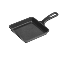 Featured Product 5-inch Square Cast Iron Skillet