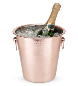 Featured Product Old Kentucky Home™ Hammered Copper Ice Bucket