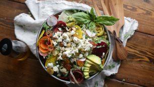 Raw Veg Salad 4