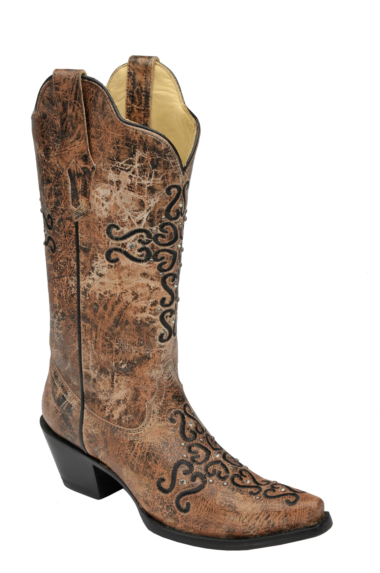 corral womens boots black cowboy boots fashion