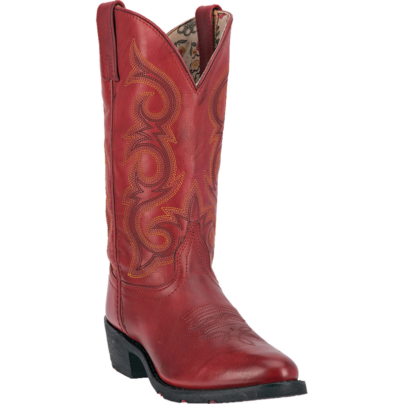 Model Top Red Ladies Cowboy Boots Wallpapers