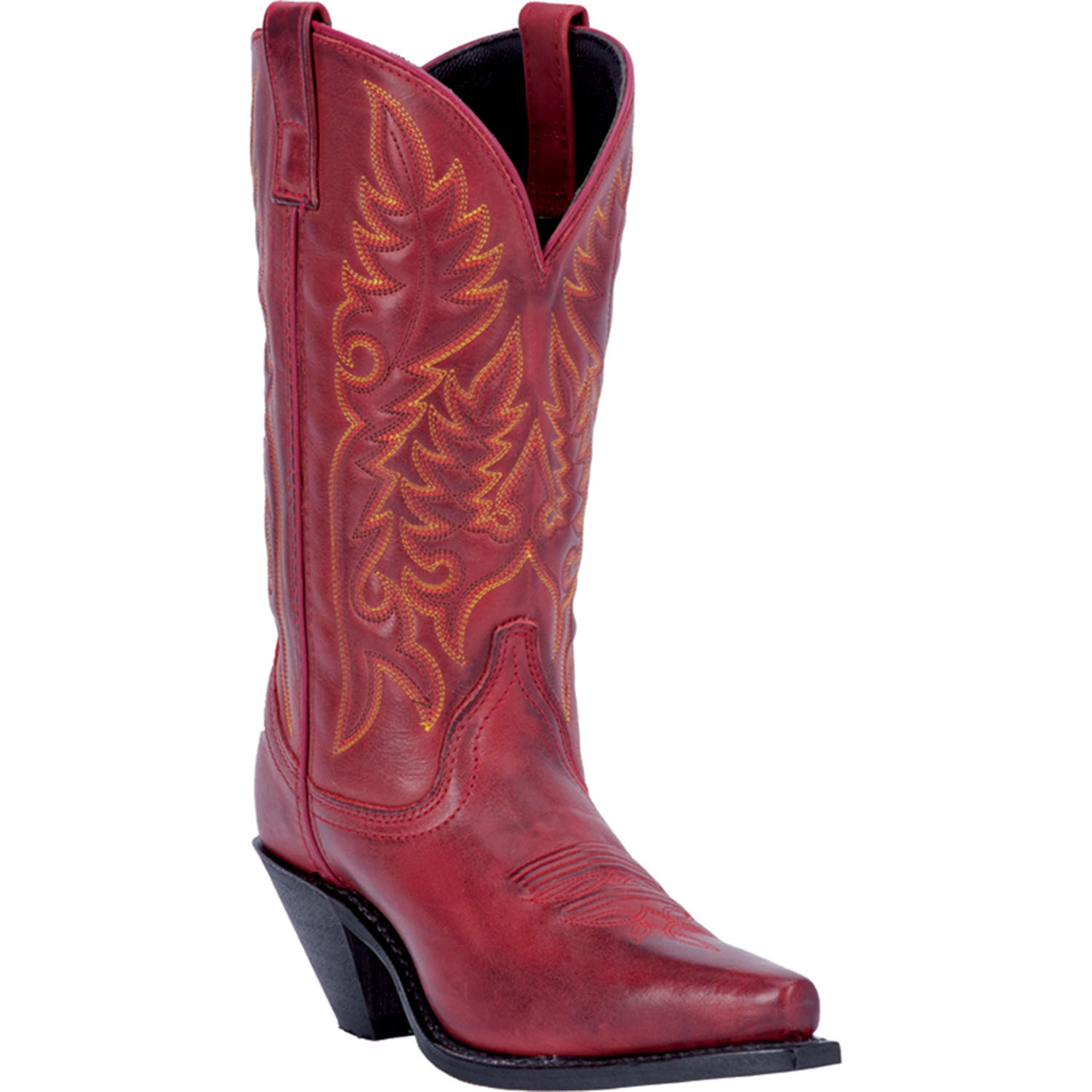 Original Valentineu0026#39;s Vintage SOLD - Womens Red Cowboy Boots - Size 8 M - $80