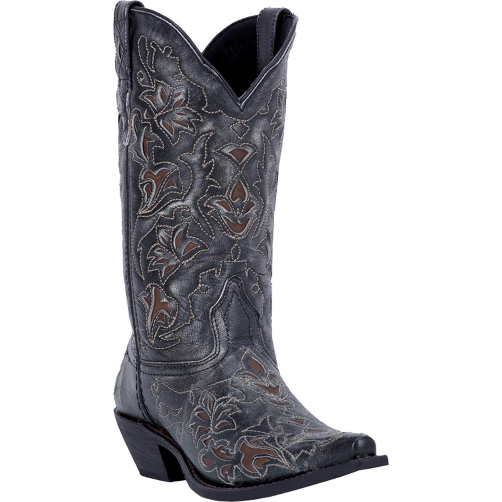 Amazing Short Black Cowboy Boots For Women