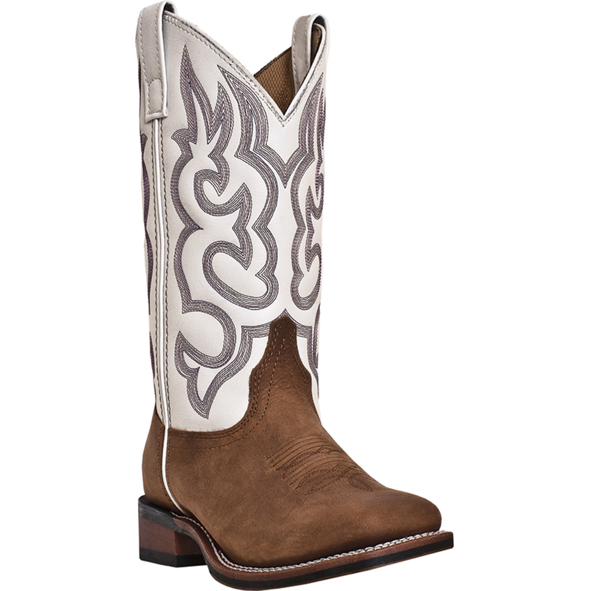 Amazing  Boots Gt Ariat Womens Round Up Square Toe Cowboy Boots  Powder Brown