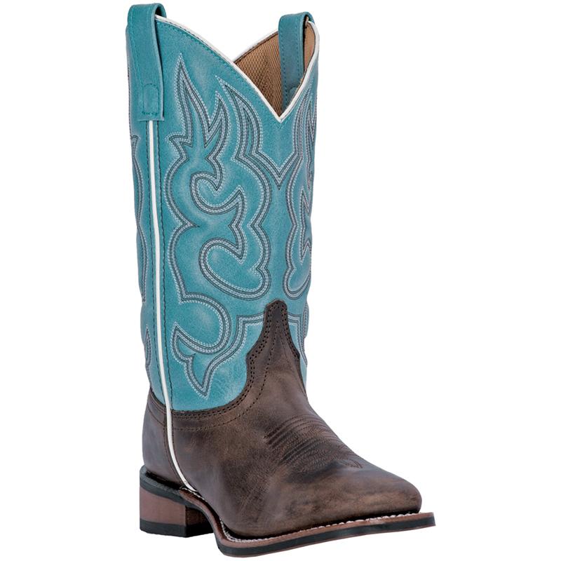 laredo womens brown leather mesquite gaucho 11 034 square
