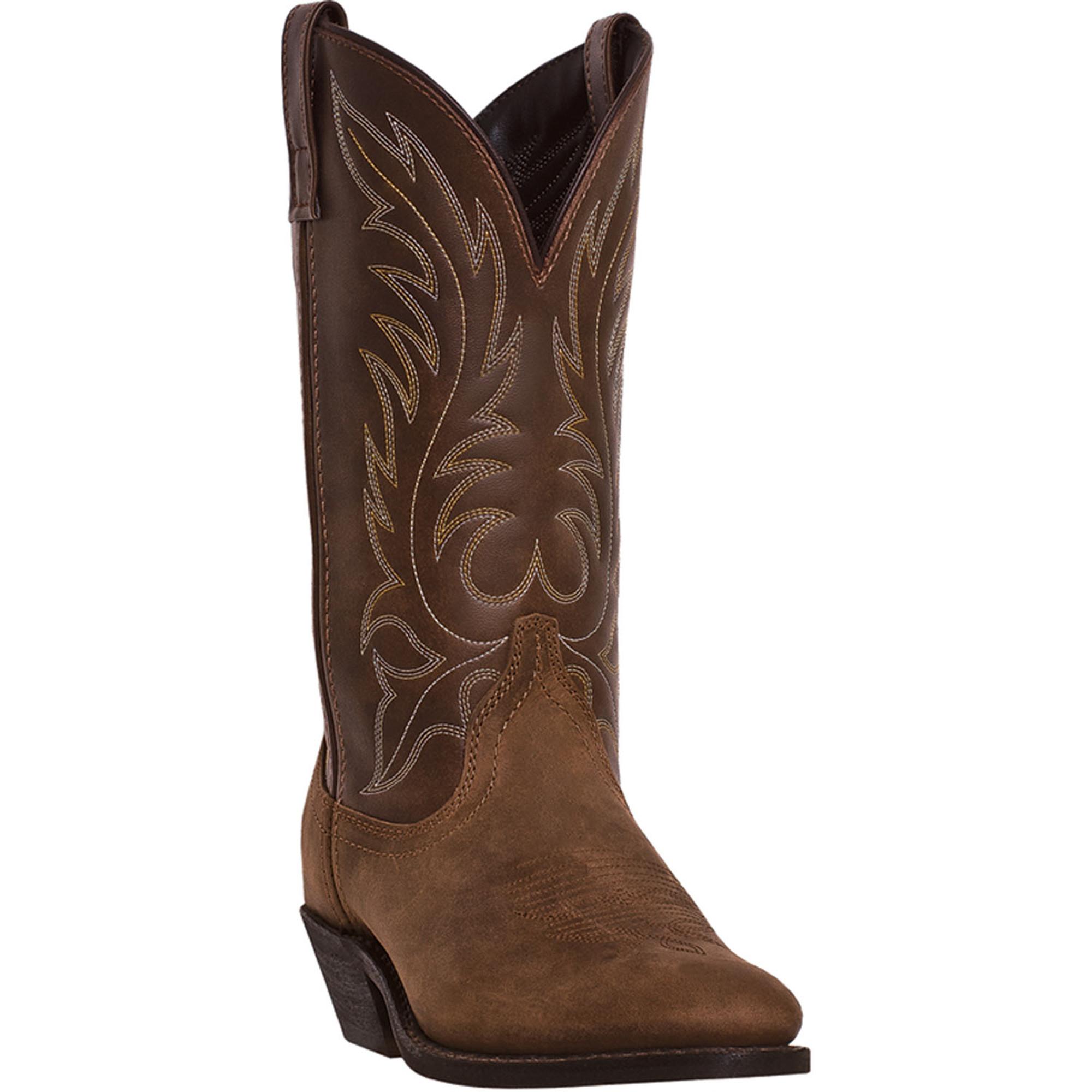laredo womens distressed leather kadi 11in r toe