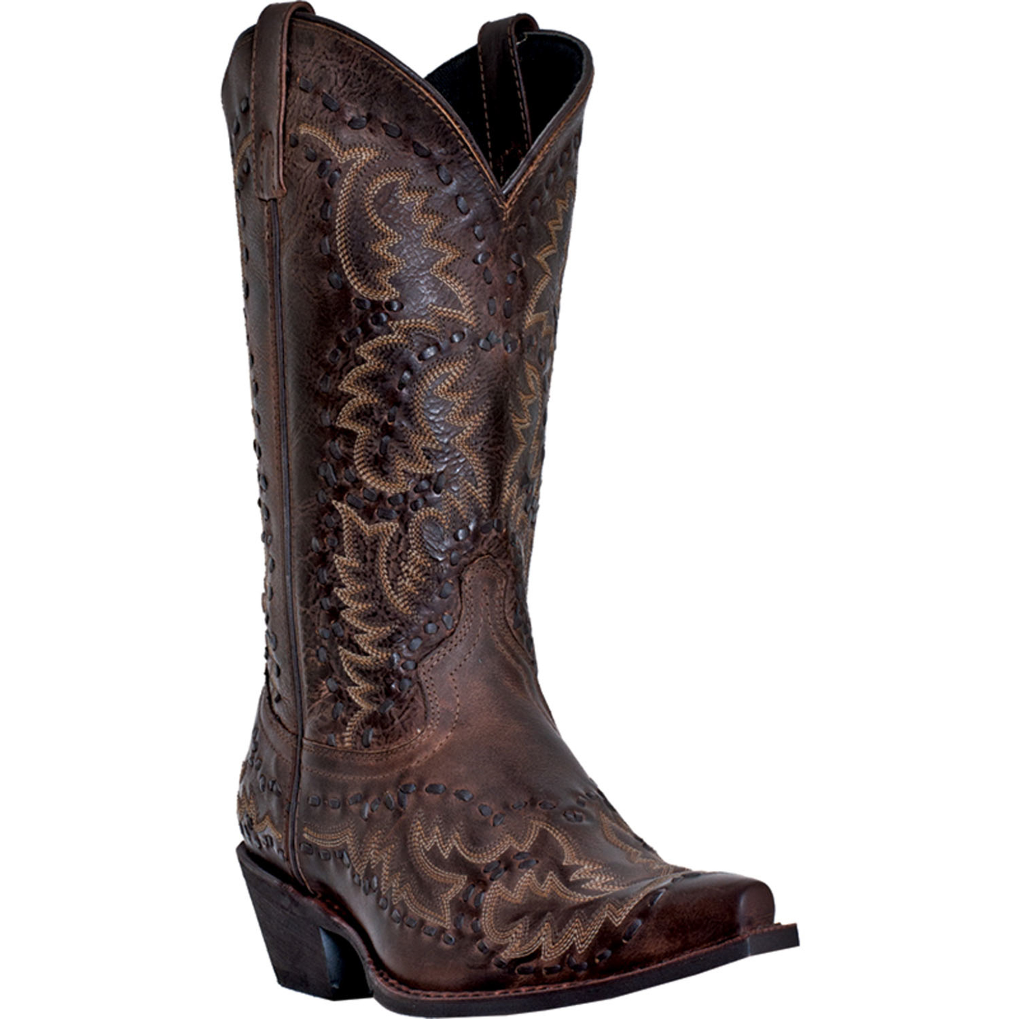 laredo mens brown leather midnight rider 12
