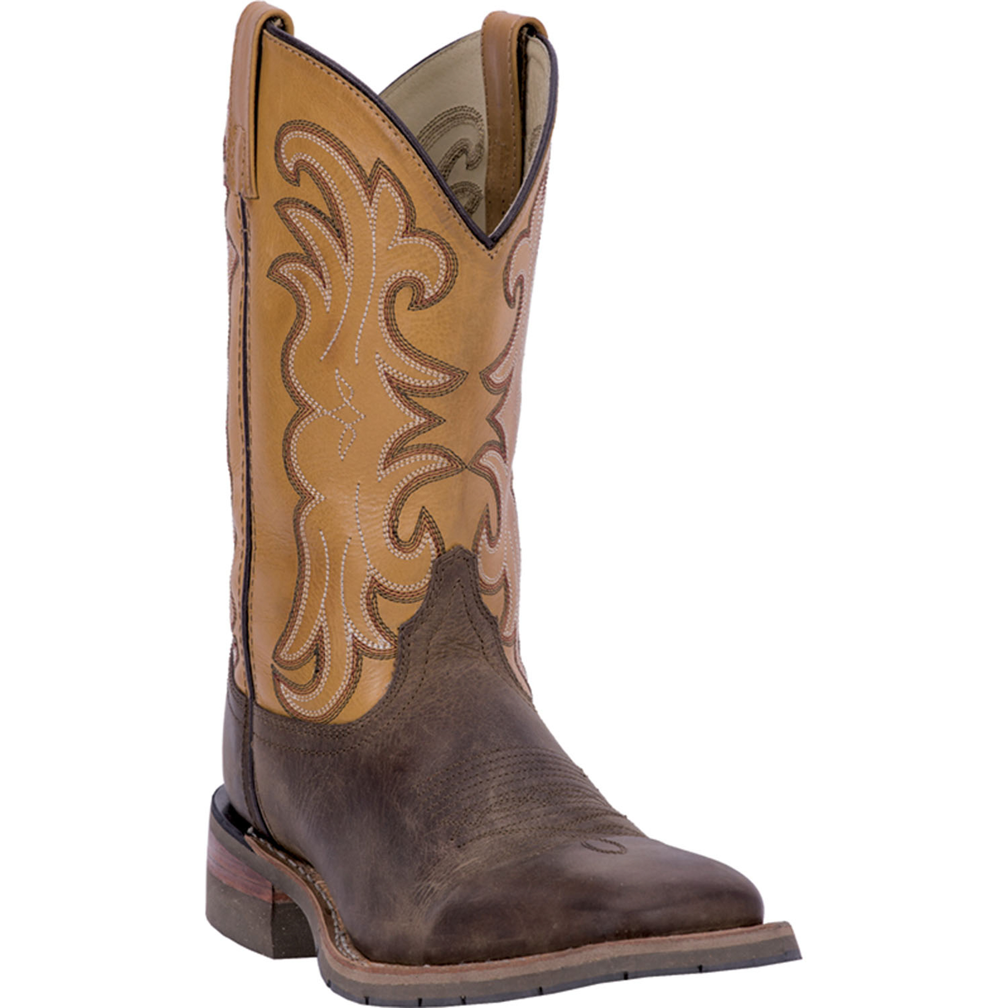 dan post mens ferrier leather cowboy boots distressed