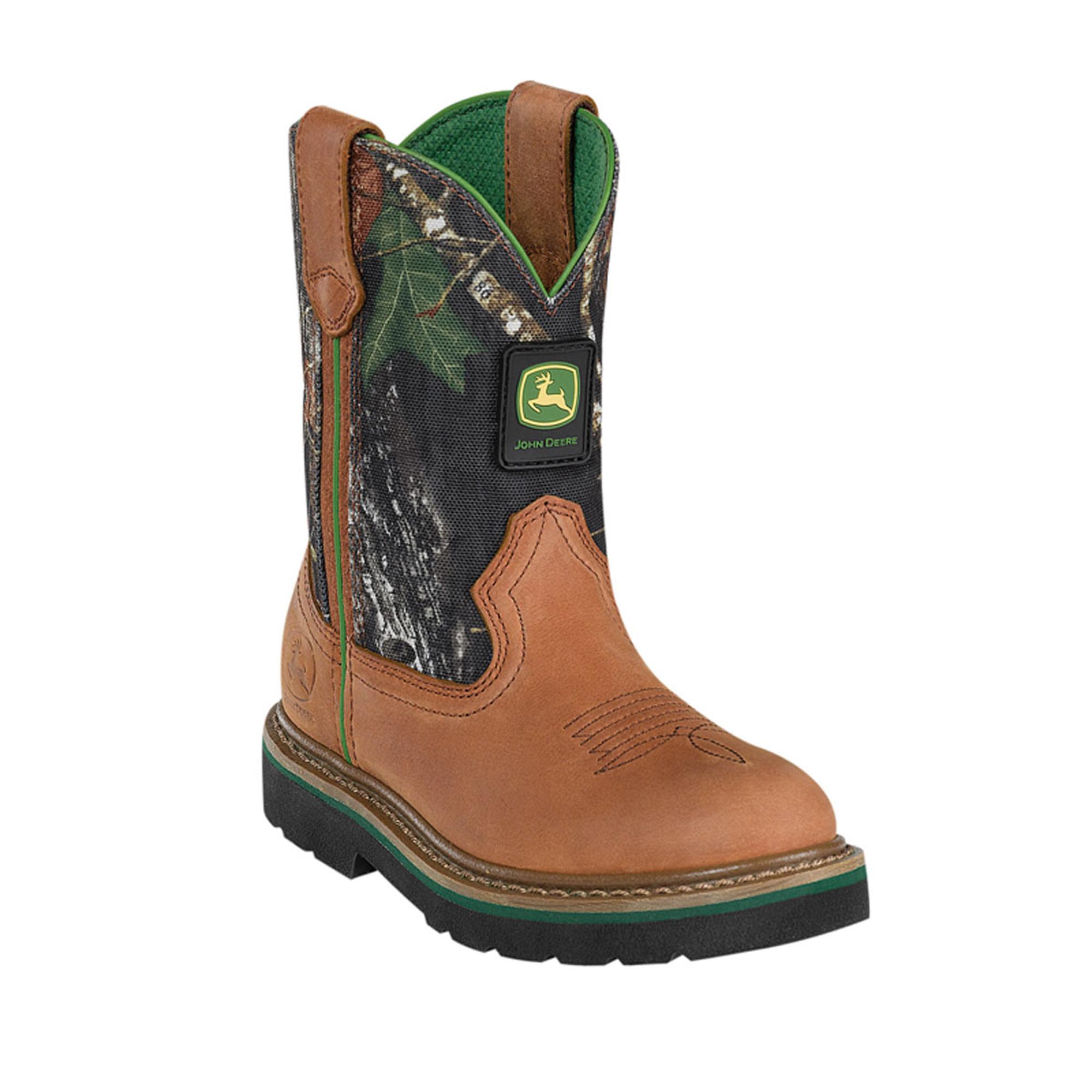 Boys camo cowboy boots