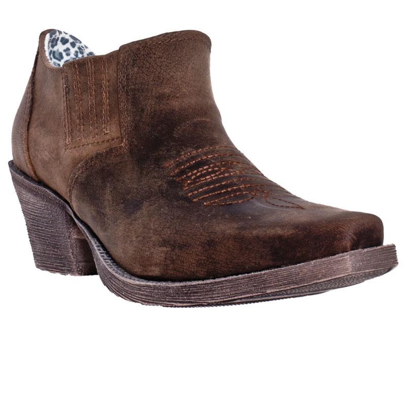laredo womens jodi leather cowboy boots ankle ebay
