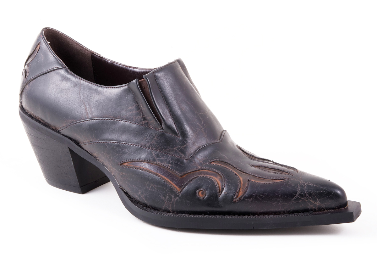 Women's Short Black Leather Boots | Illinois Institute of Technology