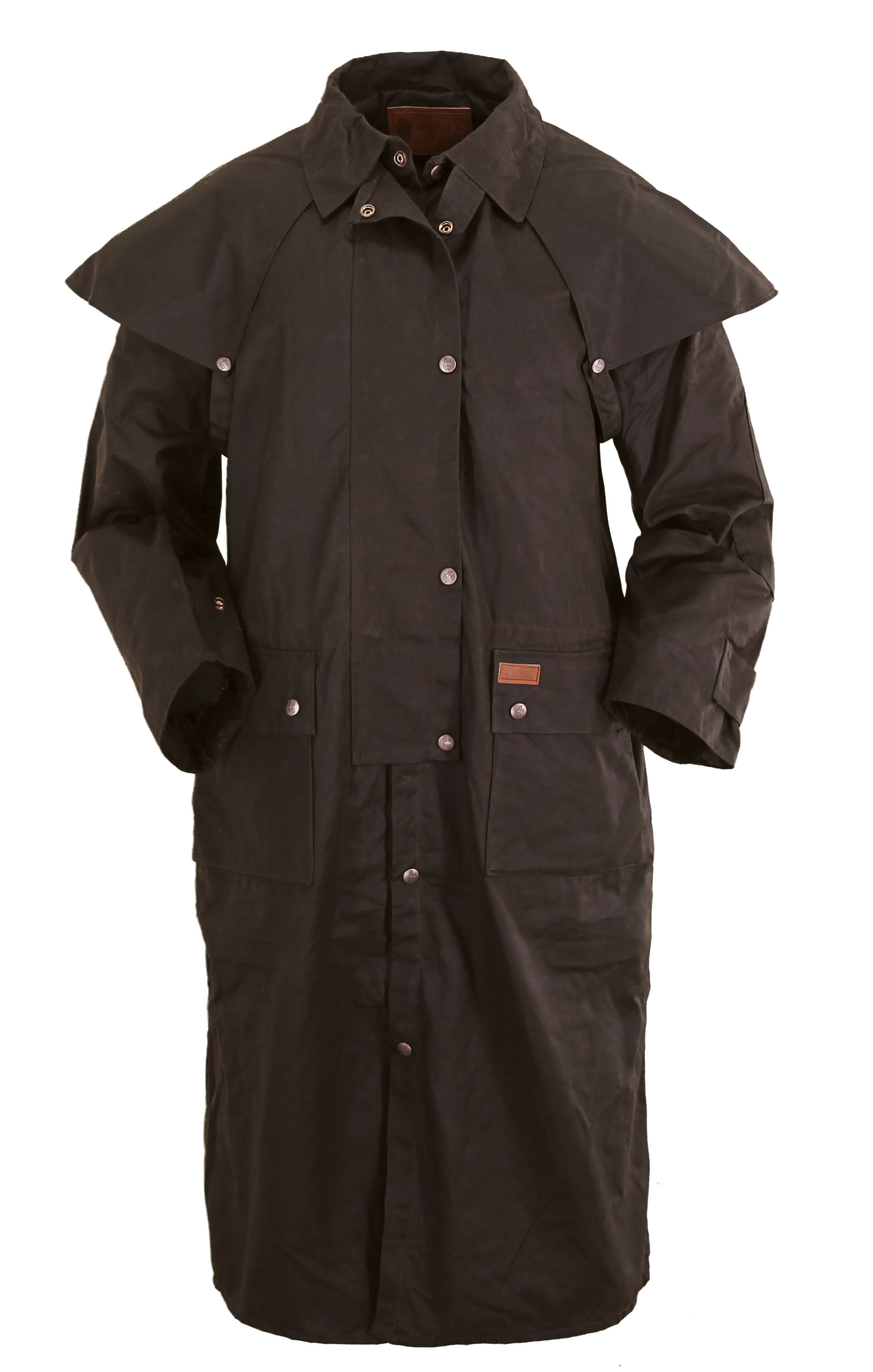 Outback trading co oilskin duster