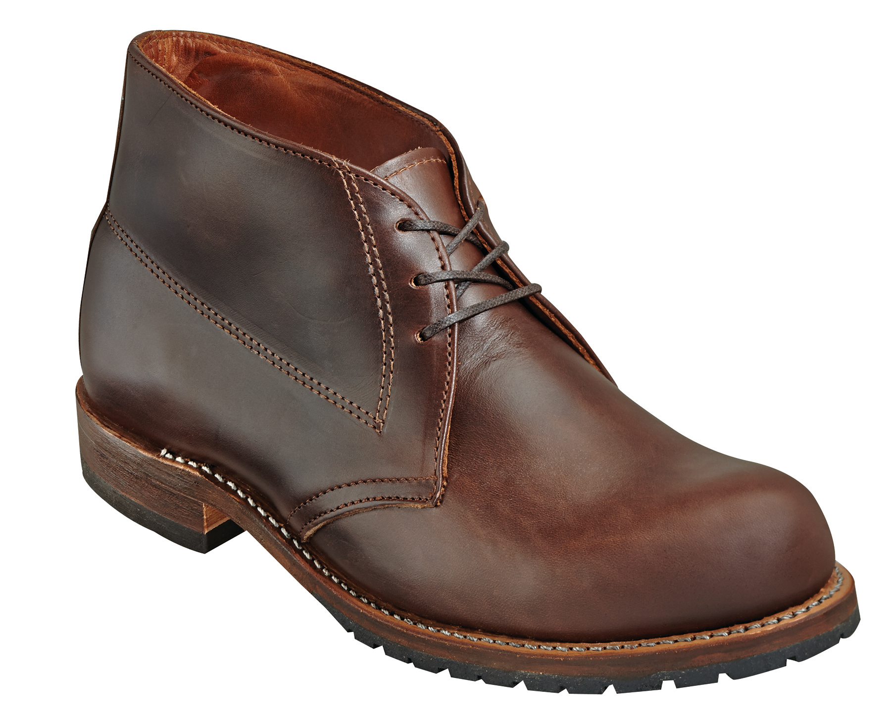 Wood n stream mens american classic brown leather usa for American classic usa