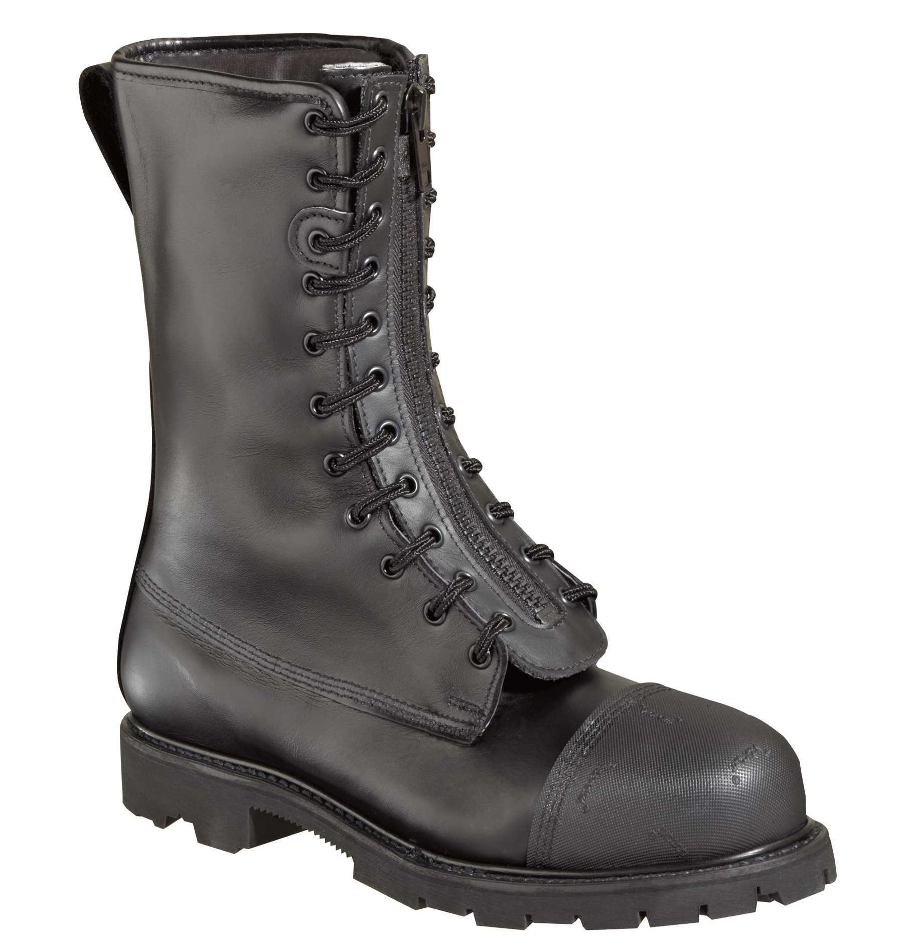 thorogood mens structural black leather wildland