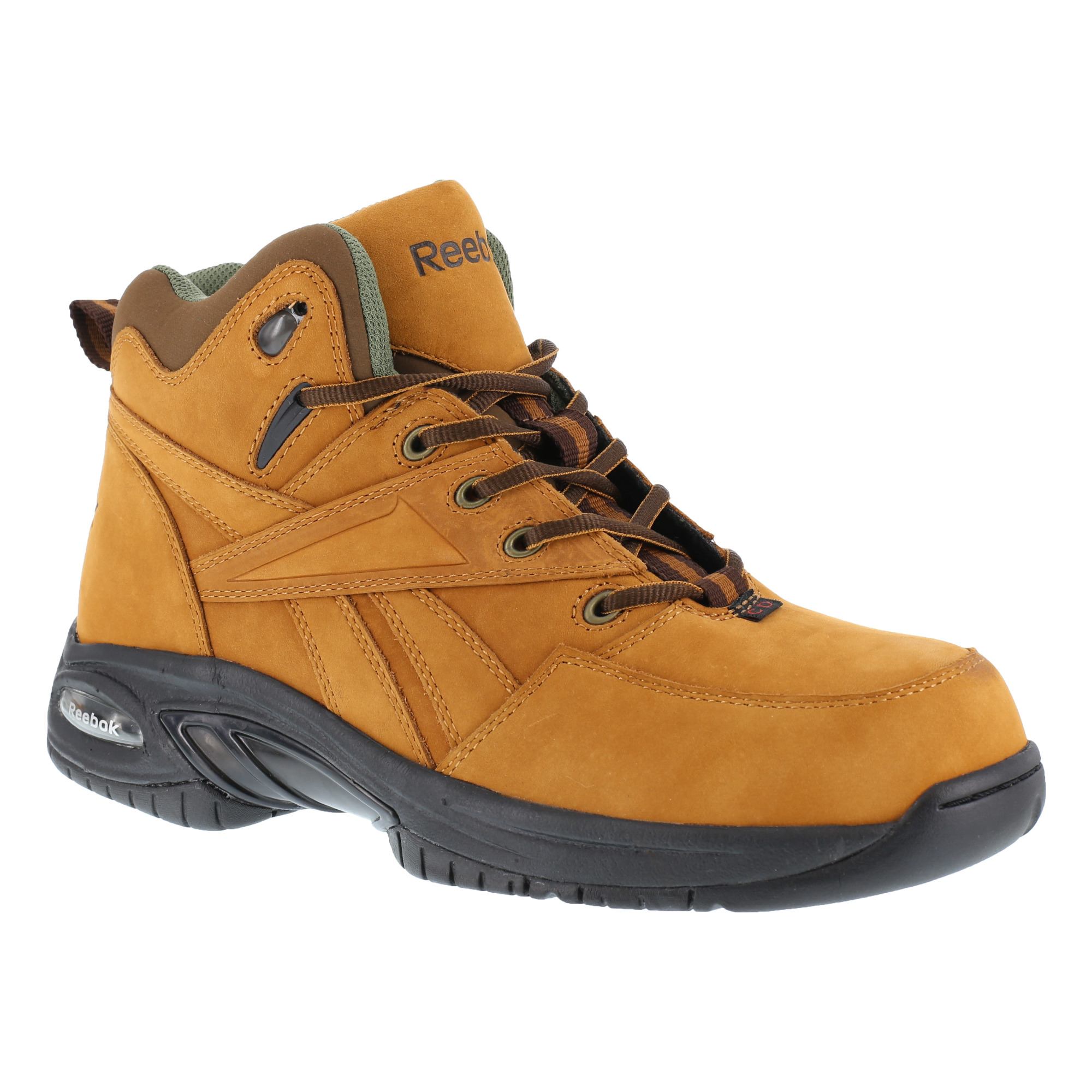 reebok mens golden leather hiker boots tyak composite toe