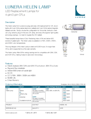 LED Replacement Lamps for PowerPoint PPT Presentation