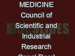 CSIR INDIAN INSTITUTE OF INTEGRATIVE MEDICINE Council of Scientific and Industrial Research Canal Road Jammu JK Web Address httpwww