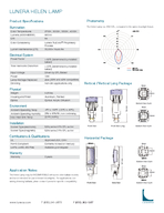 LUNERA HELEN LAMP LED Replacement Lamps for pinpin CFL Downlights Description The Helen Lamp from Lunera is a plugandplay LED replacement for CFL down lights with pin Gqseries electronic ballast and p PowerPoint PPT Presentation