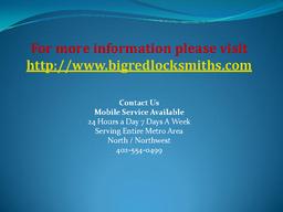 Bellevue 24 Hour Locksmith