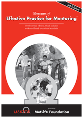 Effective Practice for MentoringElementsNewly revised edition, which i
