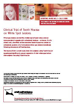 Cooperative Research Centre for Oral Health Science Level 6720 Swansto