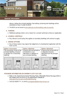 General information August   Page The NSW Government supports the development of secondary dwellingsgranny flats through the State Environmental Planning Policy Affordable Rental Housing  r AHSEPP Gra