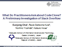 What Do Practitioners Ask about Code