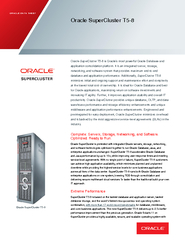 ORACLE DATA SHEET PowerPoint PPT Presentation