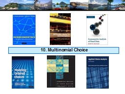 10. Multinomial Choice PowerPoint PPT Presentation