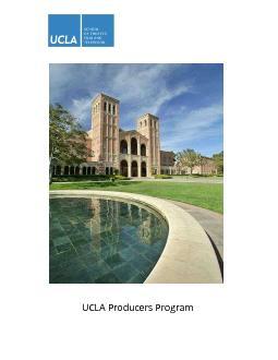 UCLA Producers Program