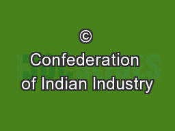 © Confederation of Indian Industry