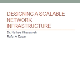 Designing a Scalable Network