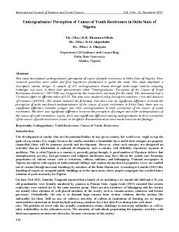 International Journal of Business and Social Science
