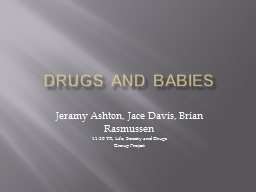 Drugs and Babies