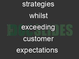 Practitioners guide to streamlining credit management strategies whilst exceeding customer expectations  Customers are the most valuable assets of any organisation PowerPoint PPT Presentation