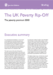 The UK Poverty Rip-OffIt is a shocking fact that families on a low inc