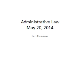 Administrative Law PowerPoint PPT Presentation