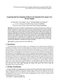 experimental investigation of a direct injection Title: an experimental investigation of performance, combustion and emission characteristics of mahua (madhuca indica) oil methyl ester on four-stroke direct injection diesel engine.