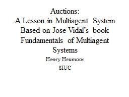 Auctions: