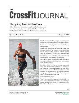 Copyright  2012 CrossFit, Inc. All Rights Reserved.CrossFit is a regis