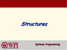 Structures PowerPoint PPT Presentation