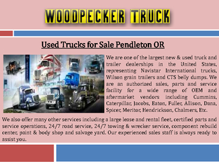 Used Trucks for Sale Pendleton OR PowerPoint PPT Presentation