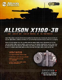Since 1946, Allison Transmission has been designing and manufacturing