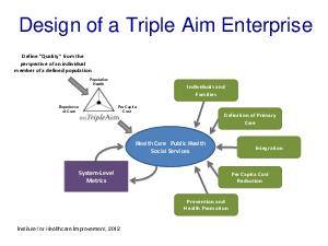 Design of a Triple Aim Enterprise Y perspective of an individual member of a def PDF document - DocSlides