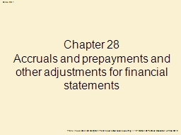 Chapter 28 PowerPoint PPT Presentation