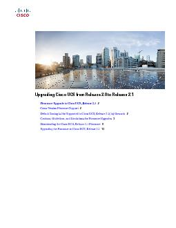 Upgrading Cisco UCS from Release 2.0 to Release 2.1)LUPZDUH8 PowerPoint PPT Presentation