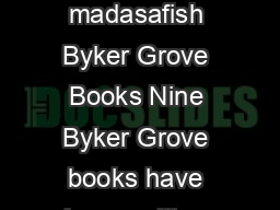 Heartbreak for Donna Byker Grove By Carrie Rose Byker Grove Books  madasafish Byker Grove Books Nine Byker Grove books have been written and published by BBC Books covering the  series