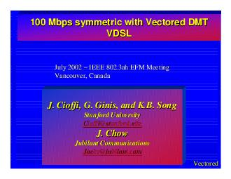 VectoredJuly 2002 July 2002