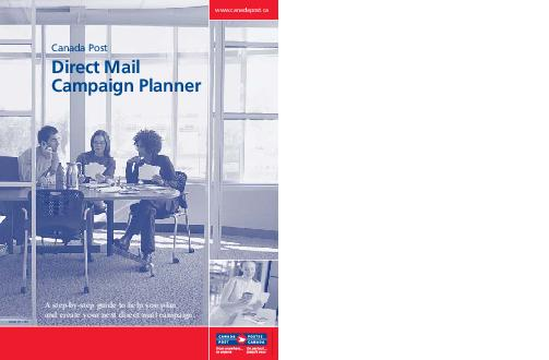 A stepbystep guide to help you plan and create your next direct mail campaign PDF document - DocSlides
